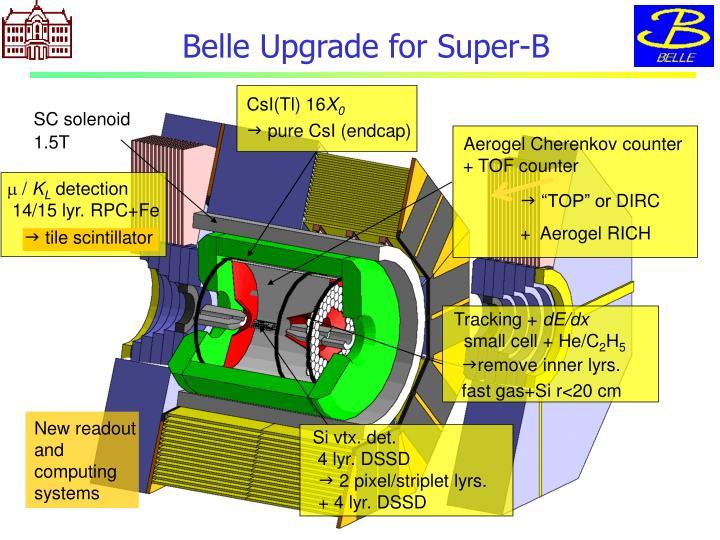 Belle Upgrade for Super-B