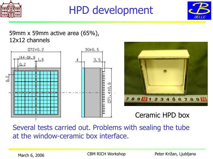 HPD development