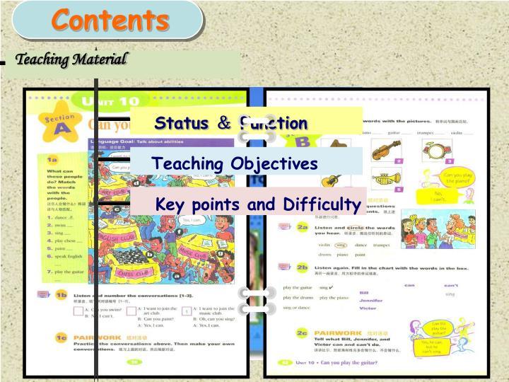Teaching Material