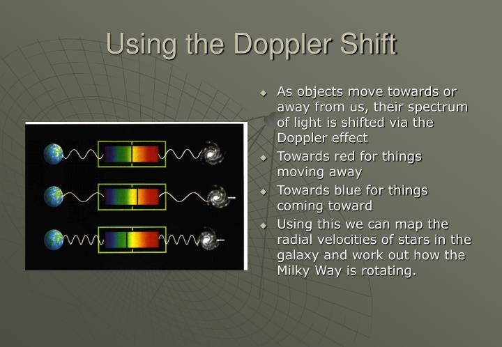 Using the Doppler Shift