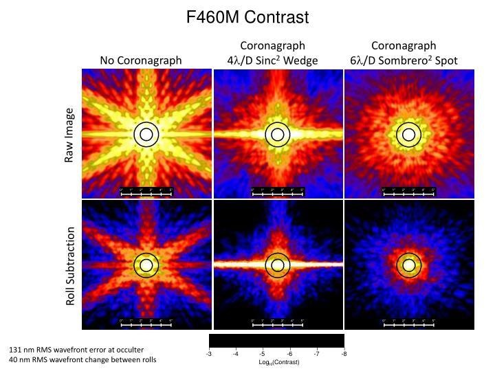F460M Contrast