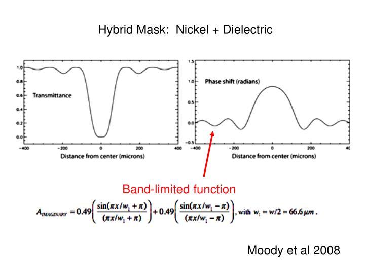 Hybrid Mask:  Nickel + Dielectric