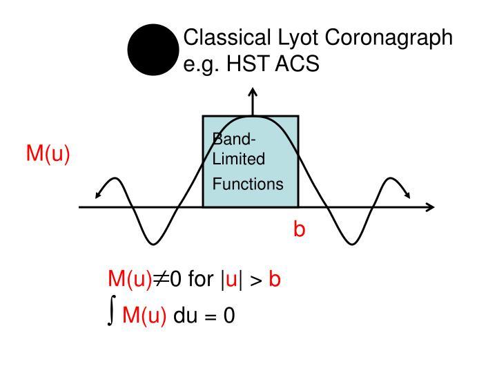 Classical Lyot Coronagraph