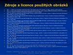 zdroje a licence pou it ch obr zk