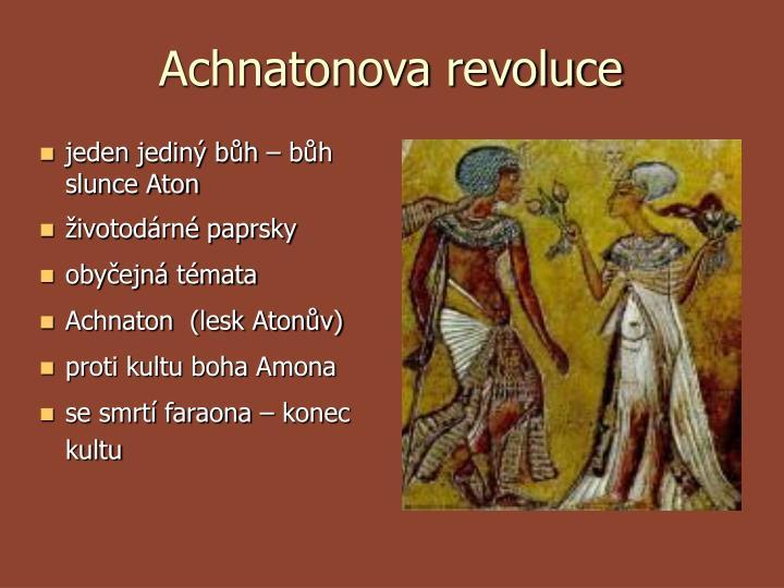 Achnatonova revoluce