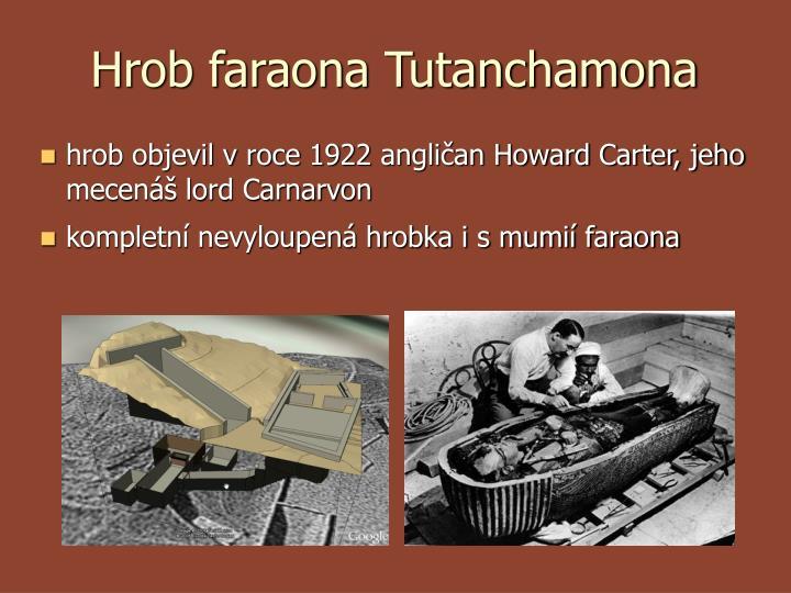 Hrob faraona Tutanchamona