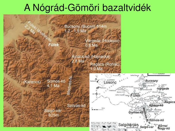 A Nógrád-Gömöri bazaltvidék