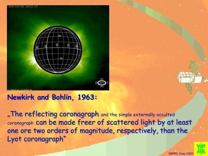 Newkirk and Bohlin, 1963: