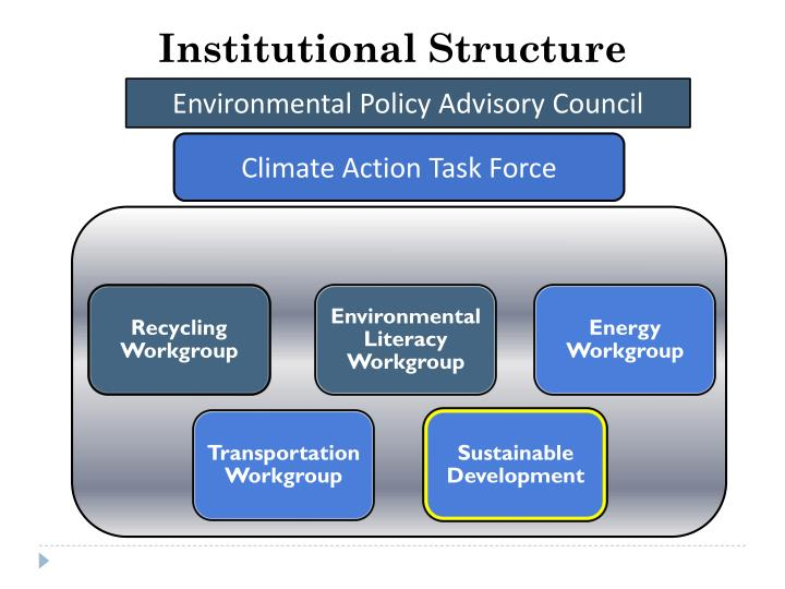 Institutional Structure