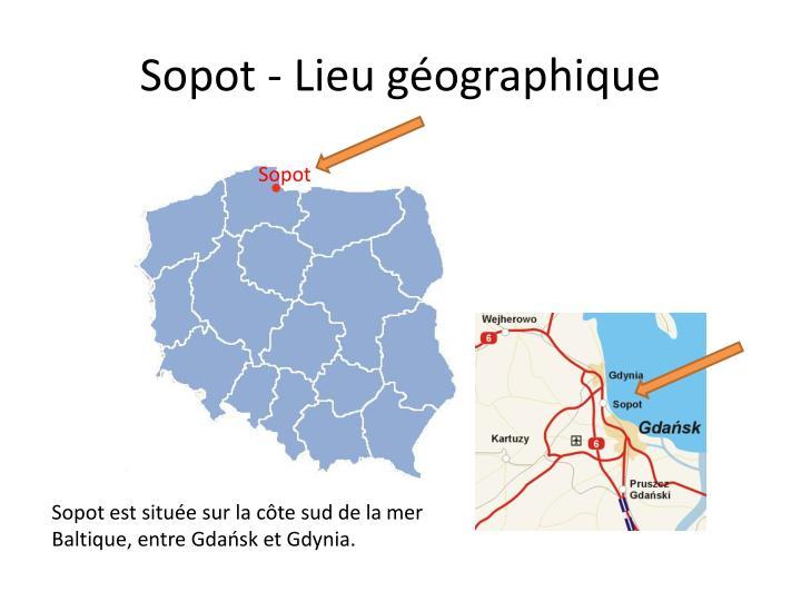 Sopot - Lieu géographique