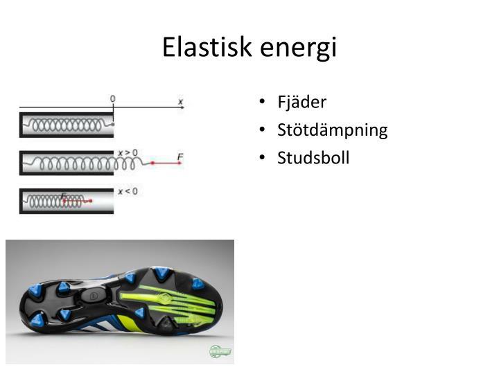 Elastisk energi