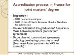 accreditation process in france for joint masters degree1