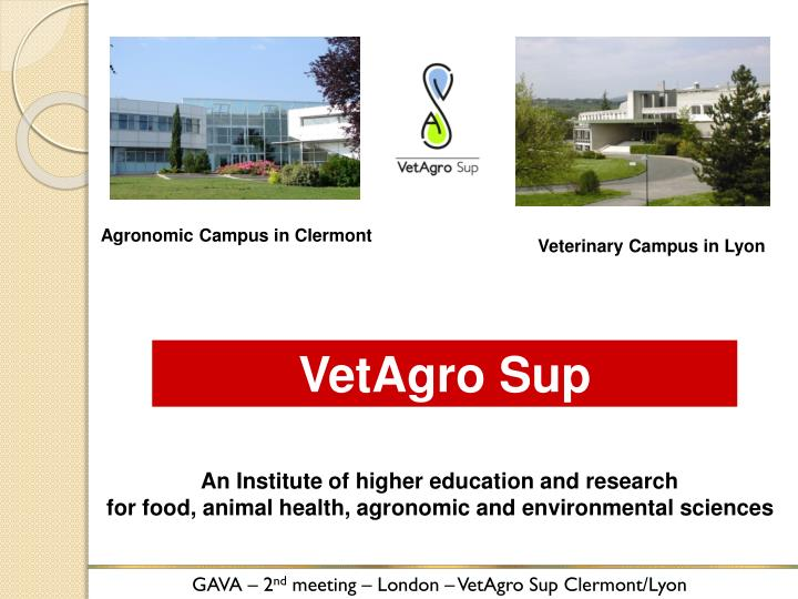Agronomic Campus in Clermont