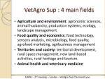 vetagro sup 4 main fields