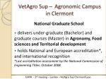 vetagro sup agronomic campus in clermont