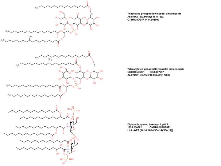 Triacylated phosphatidylinositol dimannoside