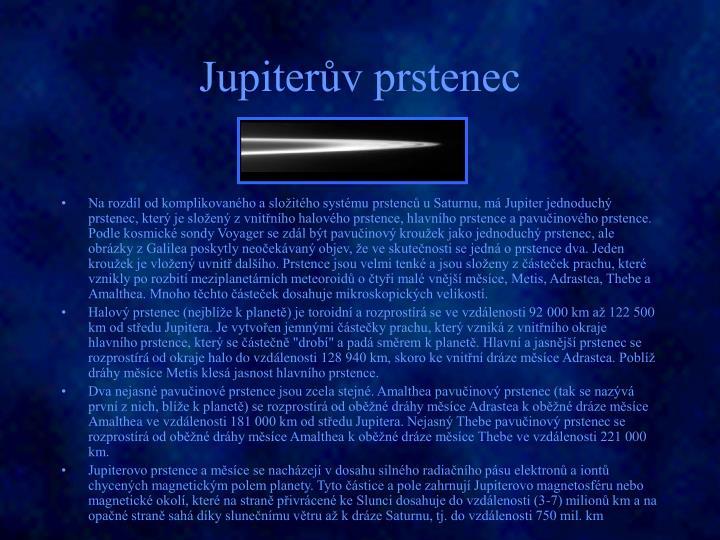 Jupiterův prstenec