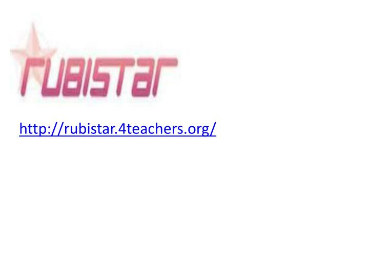 http://rubistar.4teachers.org/