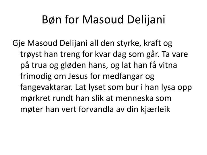 Bøn for Masoud