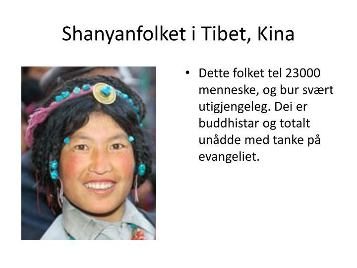Shanyanfolket
