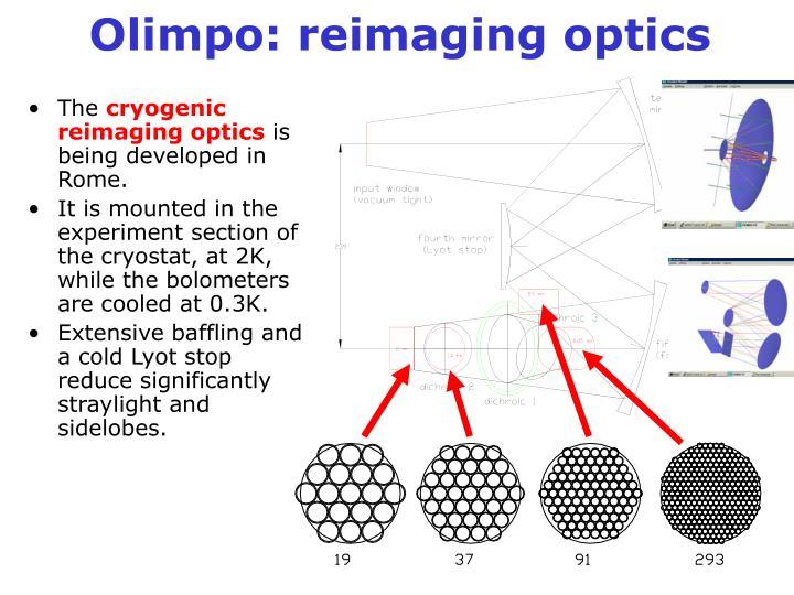 Olimpo: reimaging optics