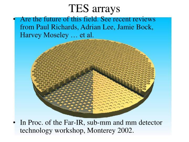 TES arrays