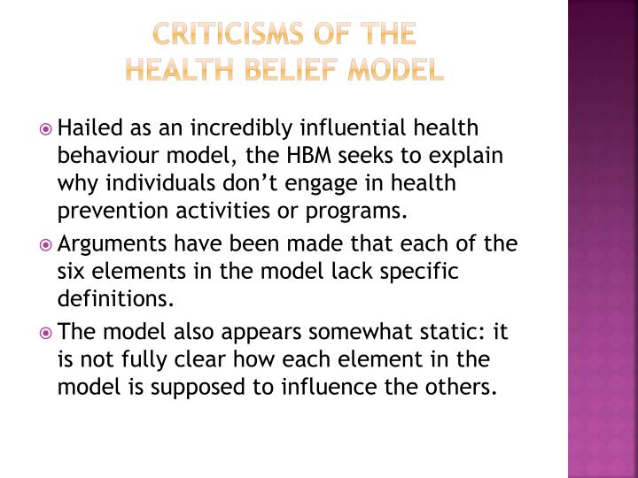 Criticisms of the
