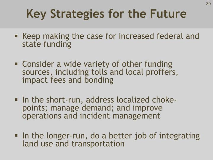 Key Strategies for the Future