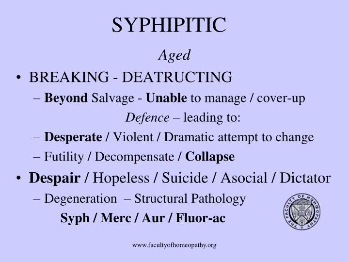 SYPHIPITIC
