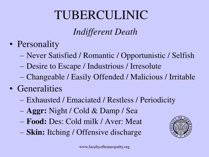 TUBERCULINIC