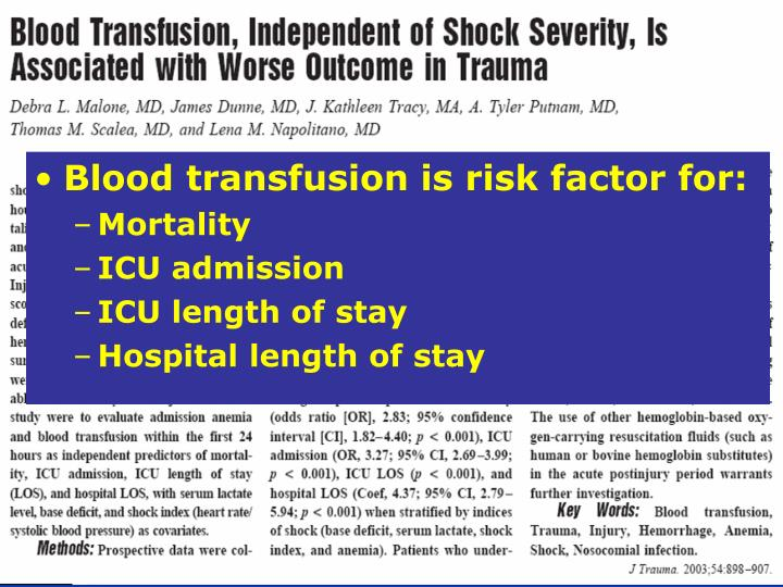 Blood transfusion is risk factor for: