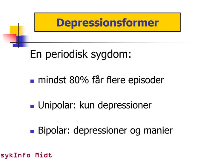Depressionsformer