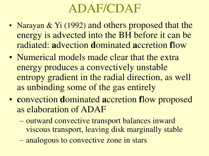 ADAF/CDAF