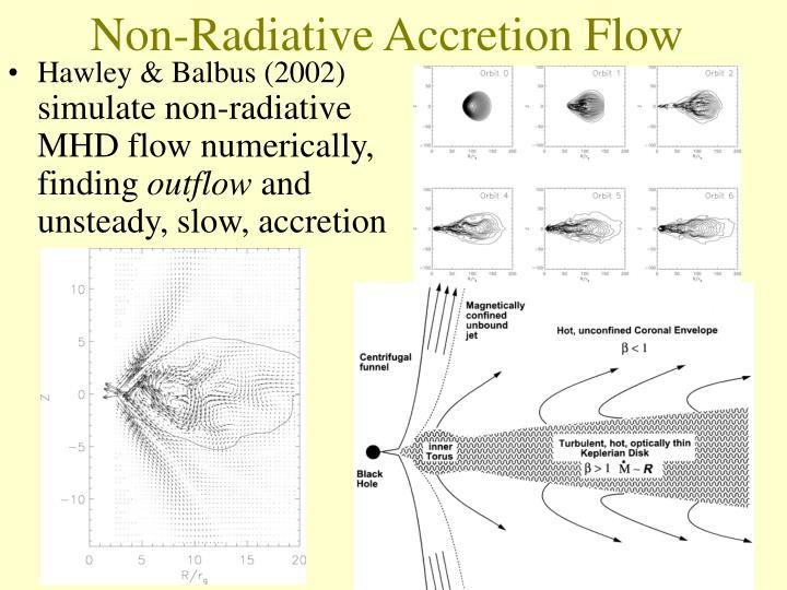 Non-Radiative Accretion Flow