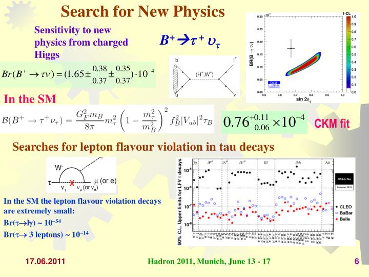 Search for New Physics