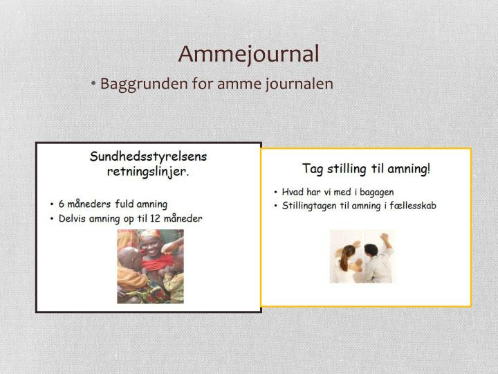 Ammejournal
