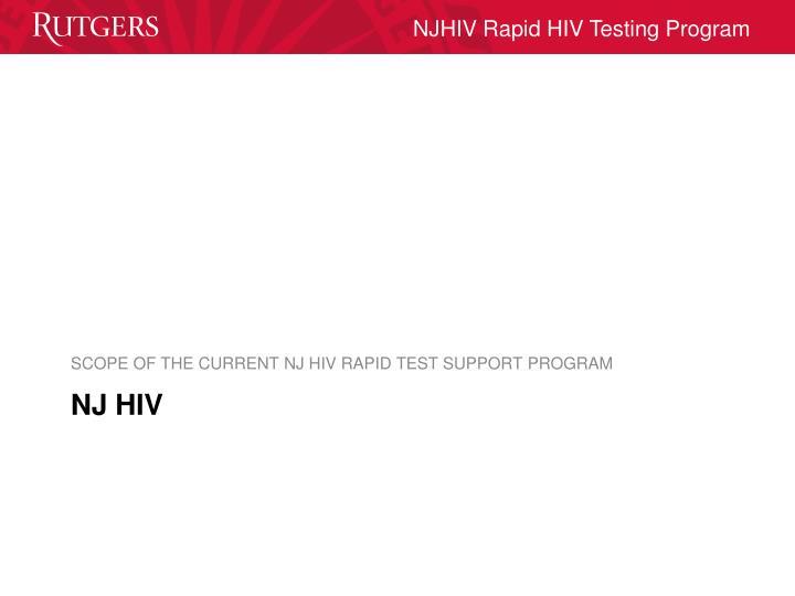 NJ HIV