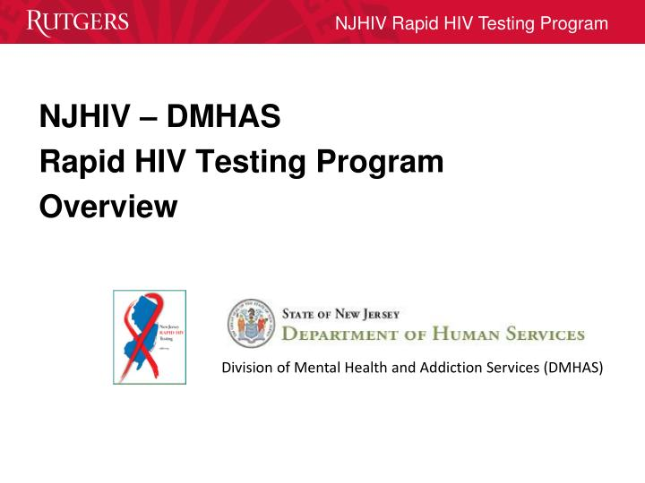 Division of Mental Health and Addiction Services (DMHAS)