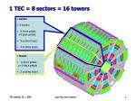 1 tec 8 sectors 16 towers