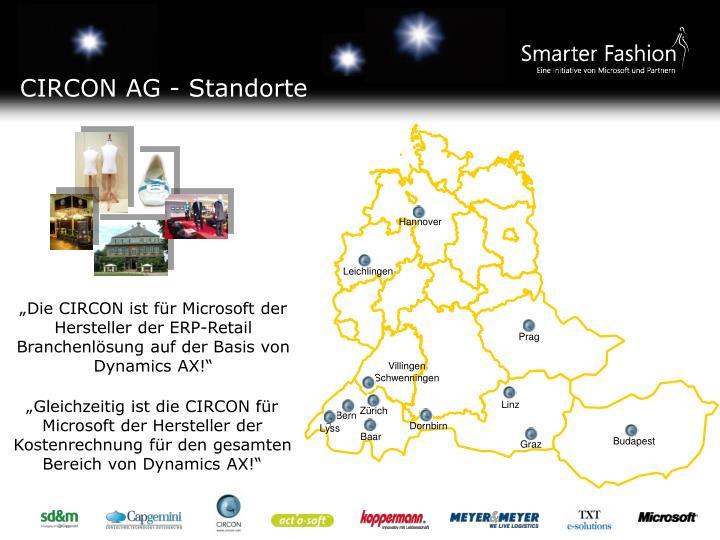CIRCON AG - Standorte