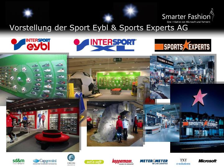 Vorstellung der sport eybl sports experts ag
