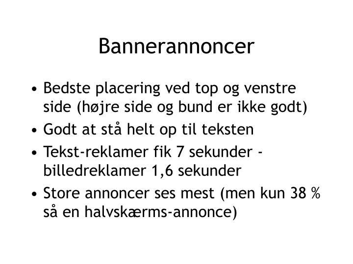 Bannerannoncer