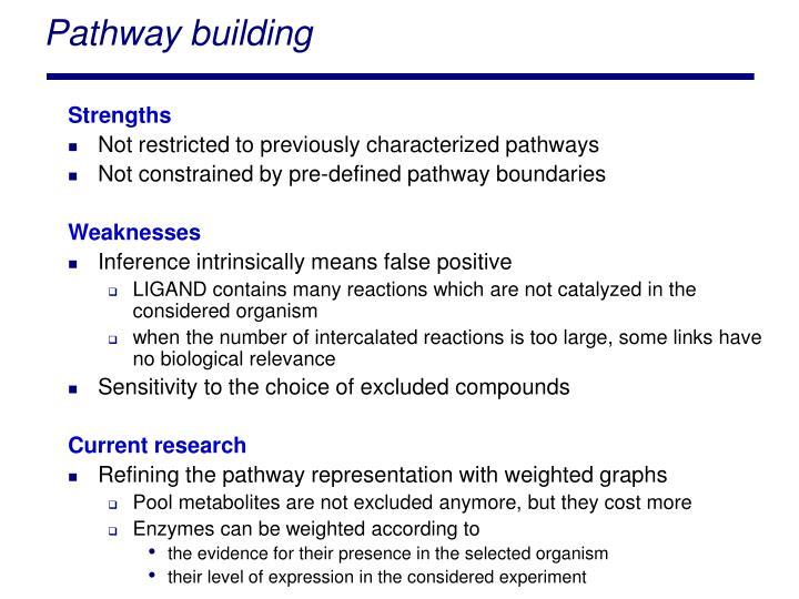 Pathway building