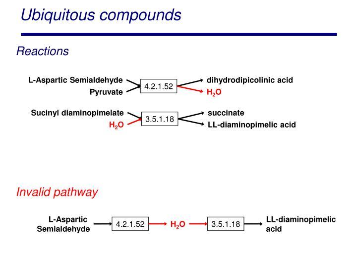 Ubiquitous compounds