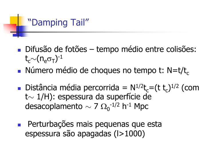 """""""Damping Tail"""""""