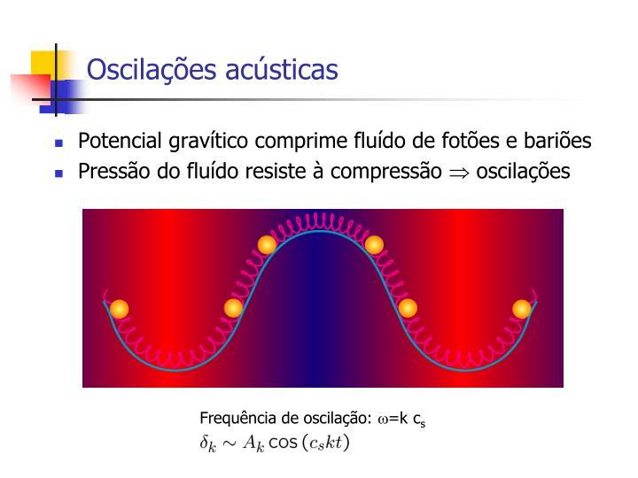 Oscilações acústicas