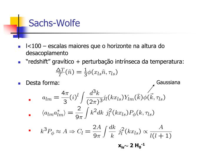 Sachs-Wolfe