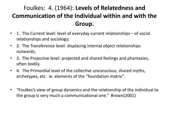 Foulkes:  4. (1964):