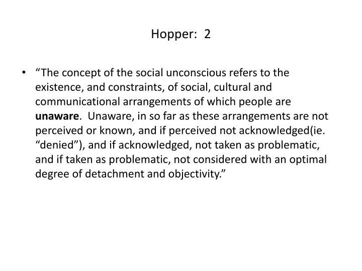 Hopper:  2