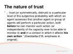 the nature of trust3